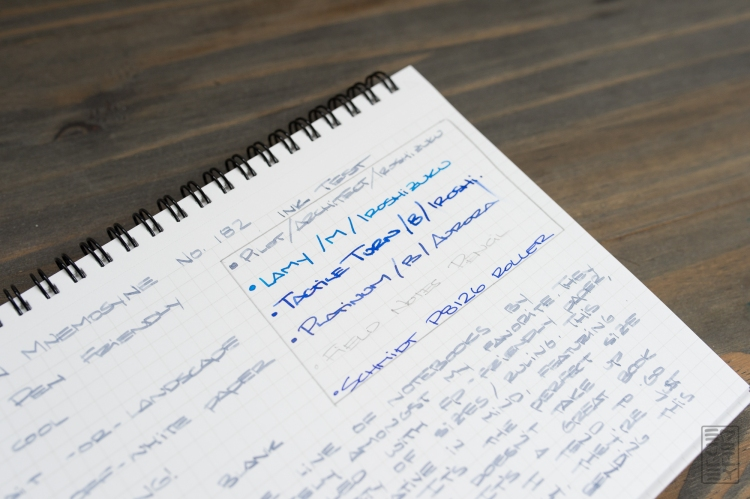 Maruman Mnemosyne 182 Notebook Review-3