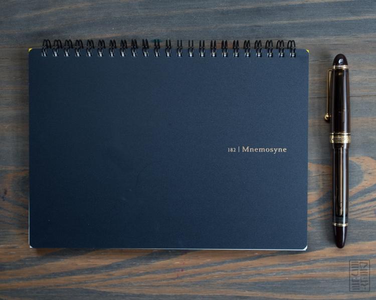 Maruman Mnemosyne 182 Notebook Review-9