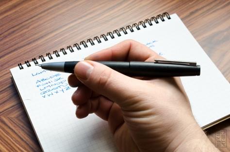 Lamy 2000 Fountain Pen Review Redux 2015-14