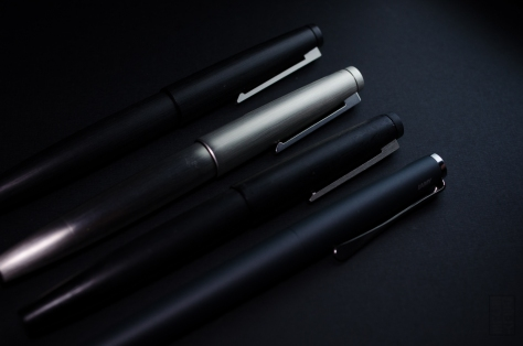 Lamy Studio Fountain Pen Review Black-6066