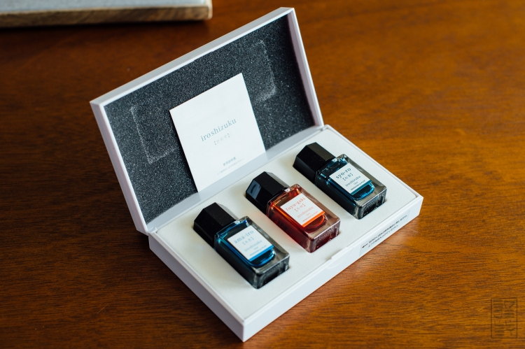Iroshizuku Mini Bottle Set Fountain Pen Ink Review-4