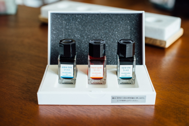 Iroshizuku Mini Bottle Set Fountain Pen Ink Review-5