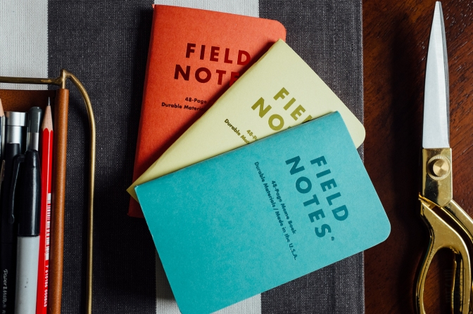 """Field Notes Spring 2016 Colors Edition – """"Sweet Tooth"""""""