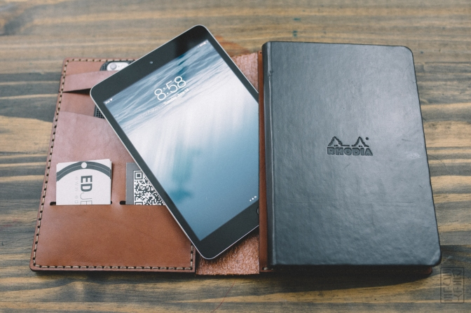 Galen Leather A5 Notebook/iPad Mini Case Review