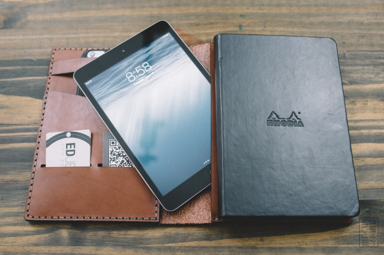Galen Leather iPad Mini Case Review-7