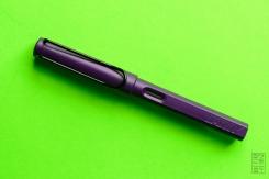 Lamy Safari Dark Lilac Fountain Pen Review Jetpens-1