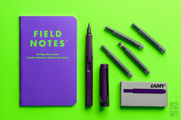 Lamy Safari Dark Lilac Fountain Pen Review Jetpens-10