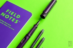 Lamy Safari Dark Lilac Fountain Pen Review Jetpens-5