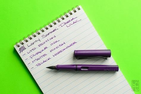 Lamy Safari Dark Lilac Fountain Pen Review Jetpens-8