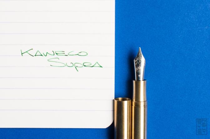 Kaweco Supra Brass Fountain Pen Review