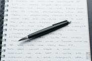 Lamy 2000 Ballpoint Pen Review-2