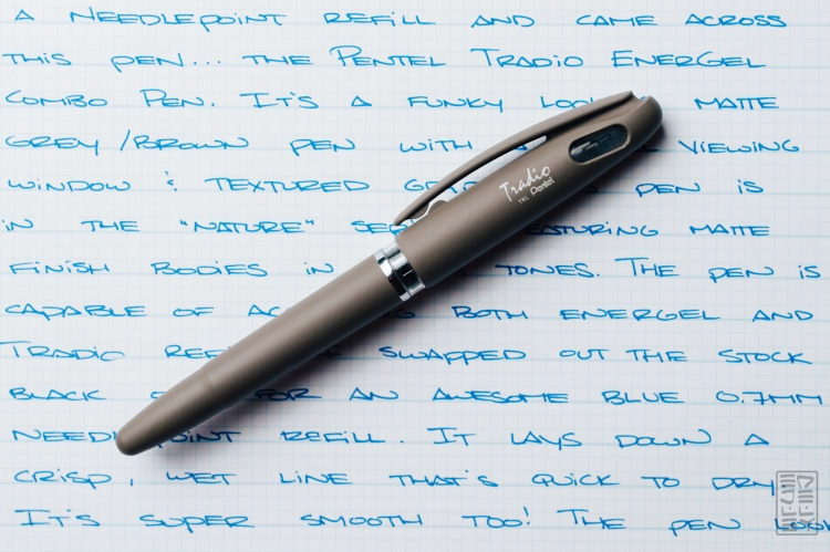 Pentel Tradio Energel Pen Review-2