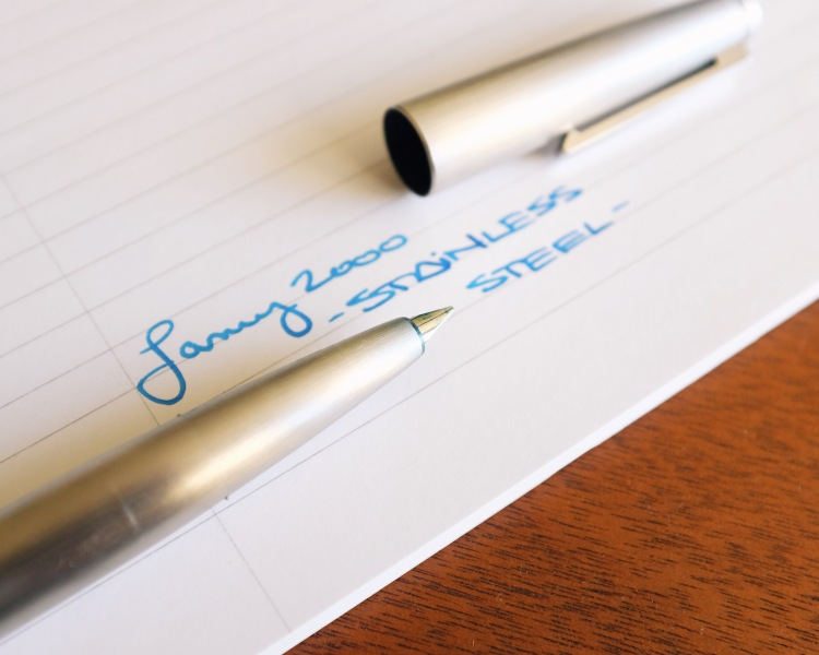 The Lamy 2000 in Stainless Steel