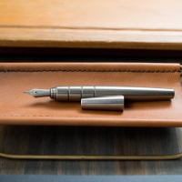 Namisu Orion Stonewashed Titanium Fountain Pen Review