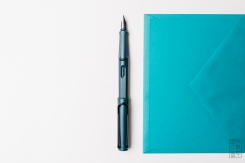Lamy Safari Petrol Fountain Pen Reivew-6