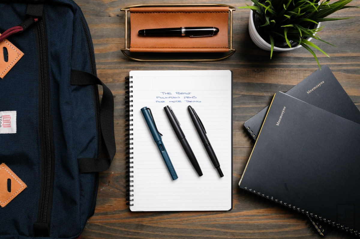 The Best Fountain Pens for Taking Notes