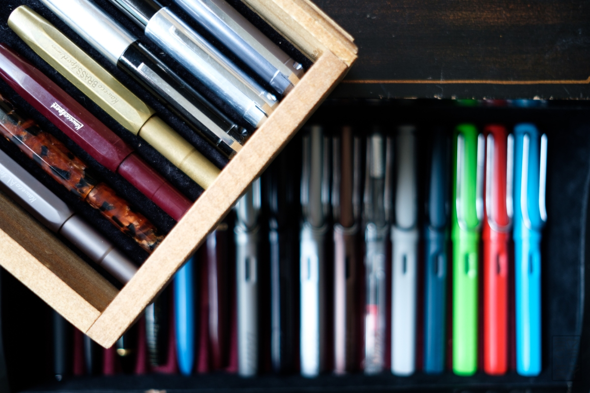 Bloggers Weigh In: Collecting Fountain Pens vs. Using Fountain Pens