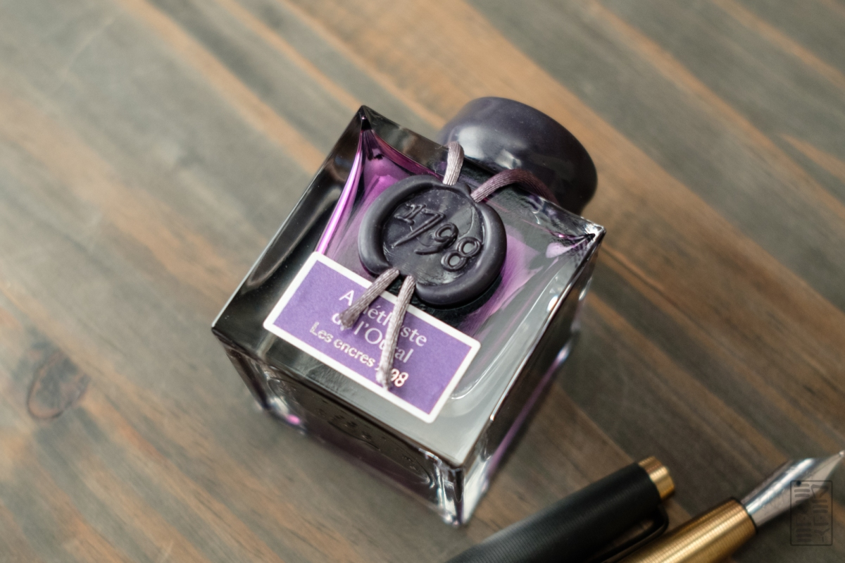 Jacques Herbin 1798: Amethyste de l'Oural Ink Review + Video