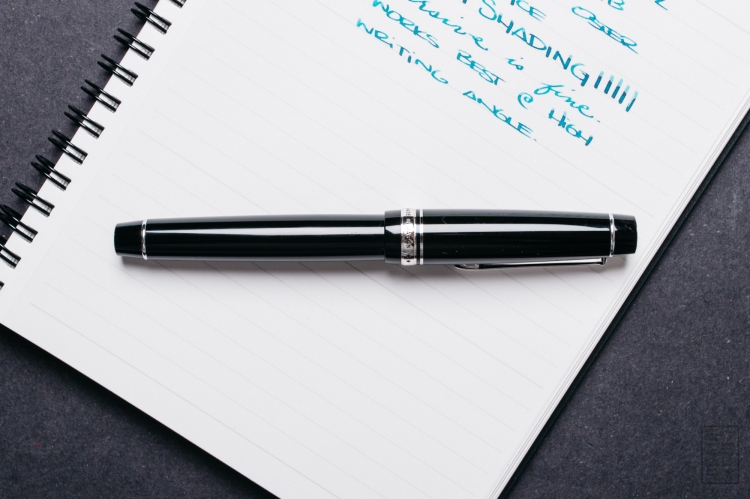 Pilot Custom 912 Fountain Pen Music Nib Review-1