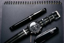 Pilot Custom 912 Fountain Pen Music Nib Review-11