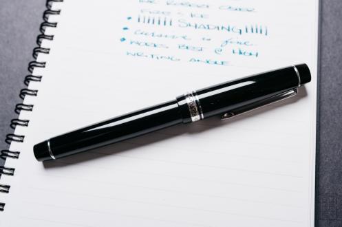 Pilot Custom 912 Fountain Pen Music Nib Review-2
