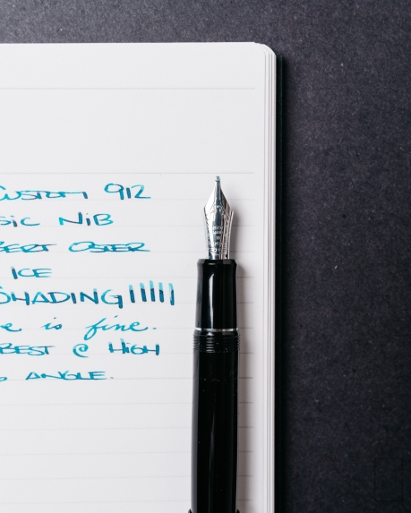 Pilot Custom 912 Fountain Pen Music Nib Review-5
