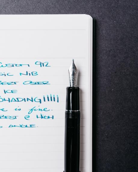 Pilot Custom 912 Fountain Pen Music Nib Review-5