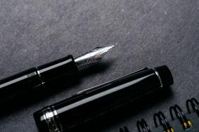 Pilot Custom 912 Fountain Pen Music Nib Review-8