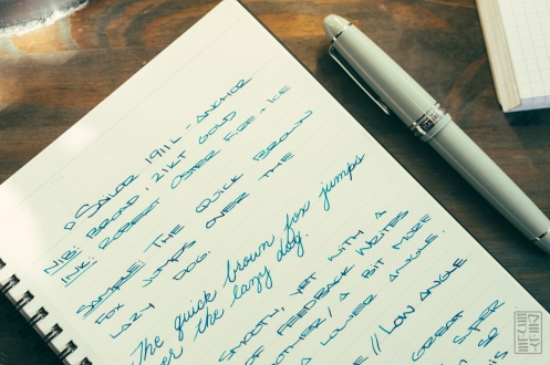 Sailor 1911L Anchor Grey Fountain Pen Review-3
