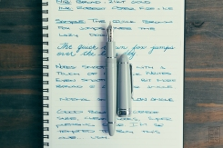 Sailor 1911L Anchor Grey Fountain Pen Review-8