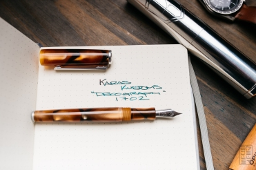 Karas Kustoms Decograph 1702 Fountain Pen Review-11