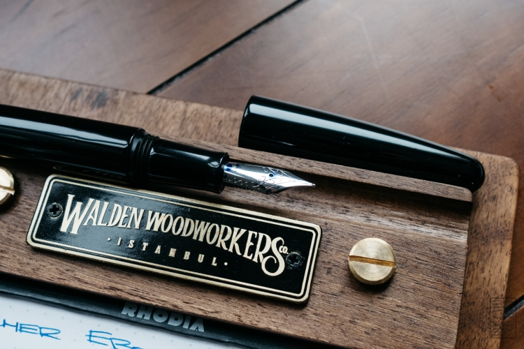 Wacher Ebonite Urushi Fountain Pen Kickstarter-2