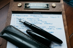 Wacher Ebonite Urushi Fountain Pen Kickstarter-4