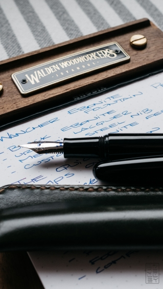 Wacher Ebonite Urushi Fountain Pen Kickstarter-6