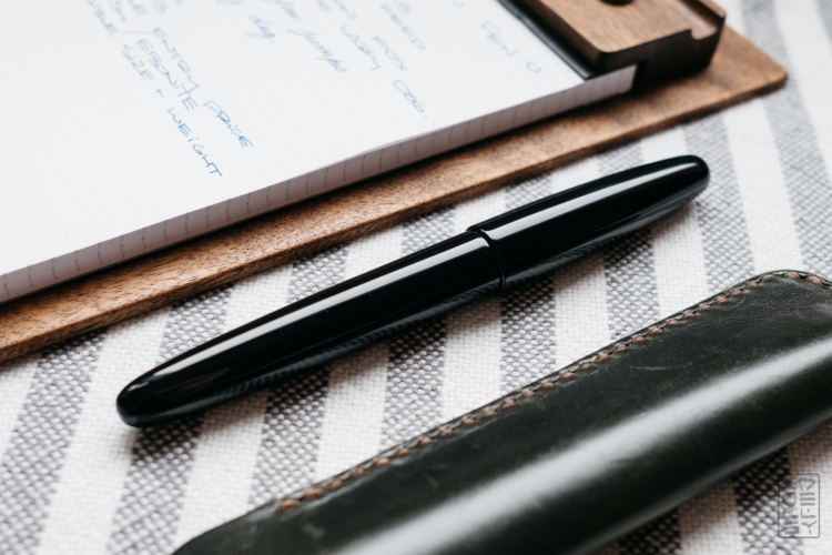 Wacher Ebonite Urushi Fountain Pen Kickstarter-7