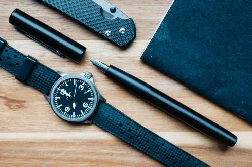 Lamy Aion Black Fountain Pen Review-12