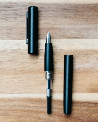 Lamy Aion Black Fountain Pen Review-13