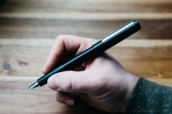 Lamy Aion Black Fountain Pen Review-7