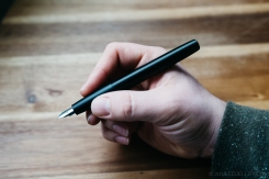 Lamy Aion Black Fountain Pen Review-8