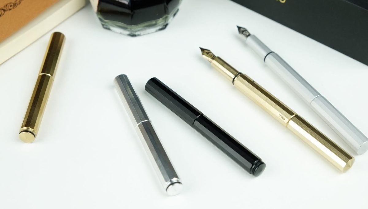 XS Pocket Fountain Pen by Ensso Design Kickstarter Announcement