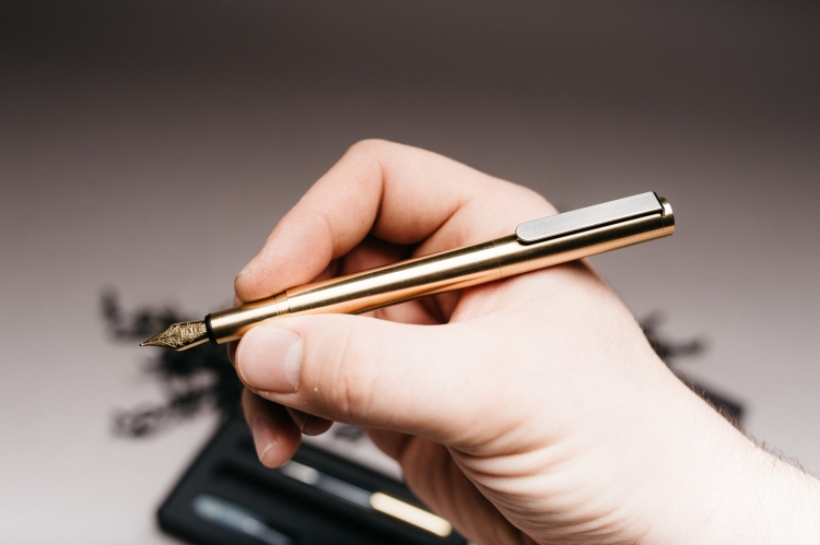 Inventery Pocket Fountain Pen Review-5