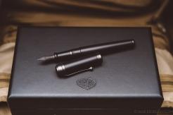 Aurora Talentum Black Ops Fountain Pen Review-10