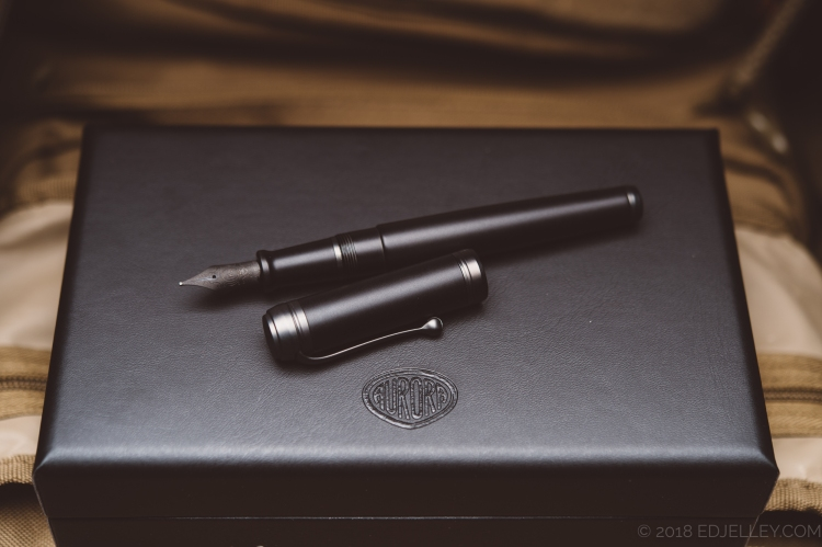 Aurora Talentum Black Ops Fountain Pen Review-10