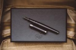 Aurora Talentum Black Ops Fountain Pen Review-12