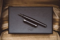 Aurora Talentum Black Ops Fountain Pen Review-12
