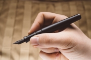 Aurora Talentum Black Ops Fountain Pen Review-3