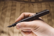 Aurora Talentum Black Ops Fountain Pen Review-4