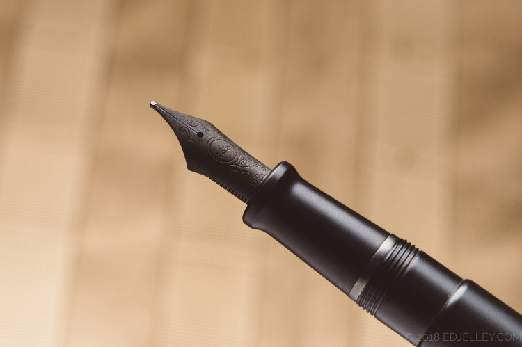 Aurora Talentum Black Ops Fountain Pen Review-5