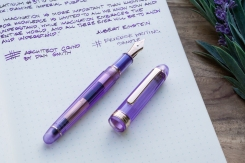 Platinum 3776 Nice Lavande Fountain Pen Review-6
