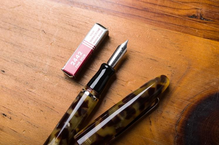 Esterbrook Estie Fountain Pen Reivew Vintage Nib-2